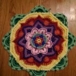 Mandala Madness Afghan - part5